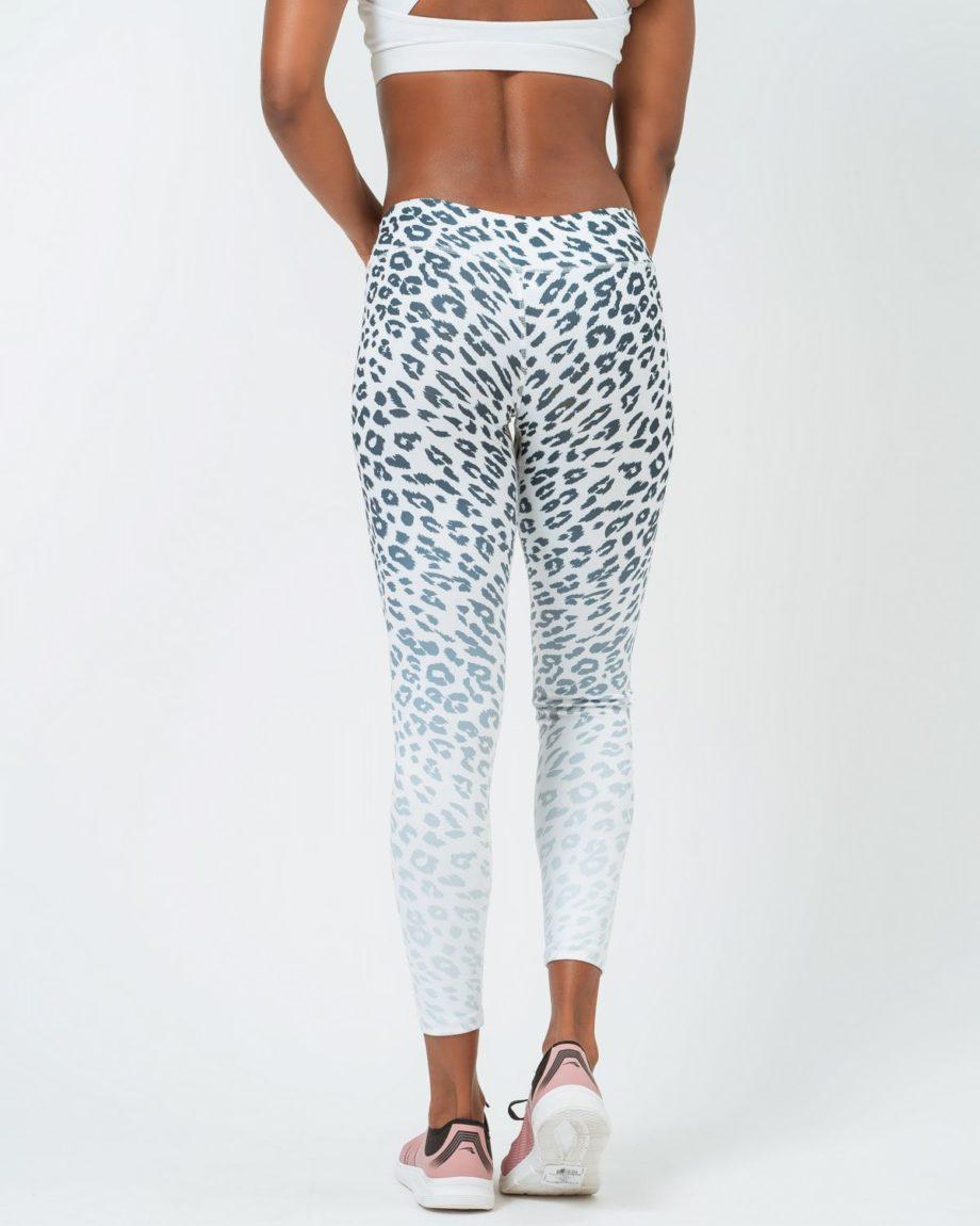 mallas leopardo blanco mujer
