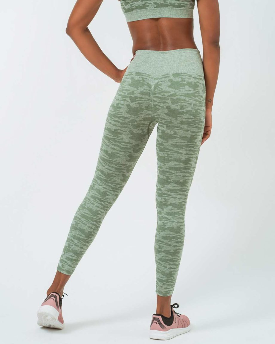 mallas deportivas camuflaje verde