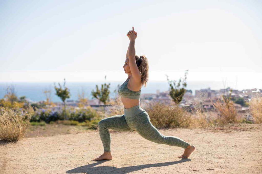 Postura del Guerrero Yoga