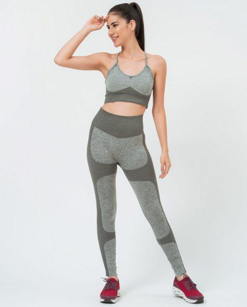 Conjunto para yoga gris