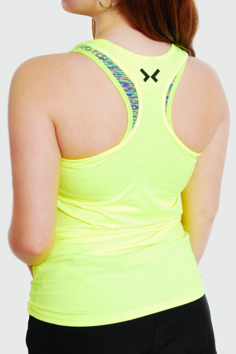camiseta tirantes running mujer