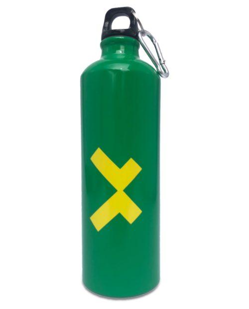 Botella de agua deportiva