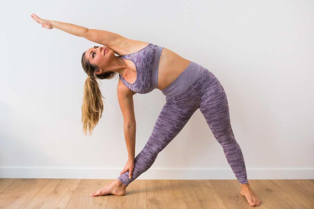 Triángulo Yoga