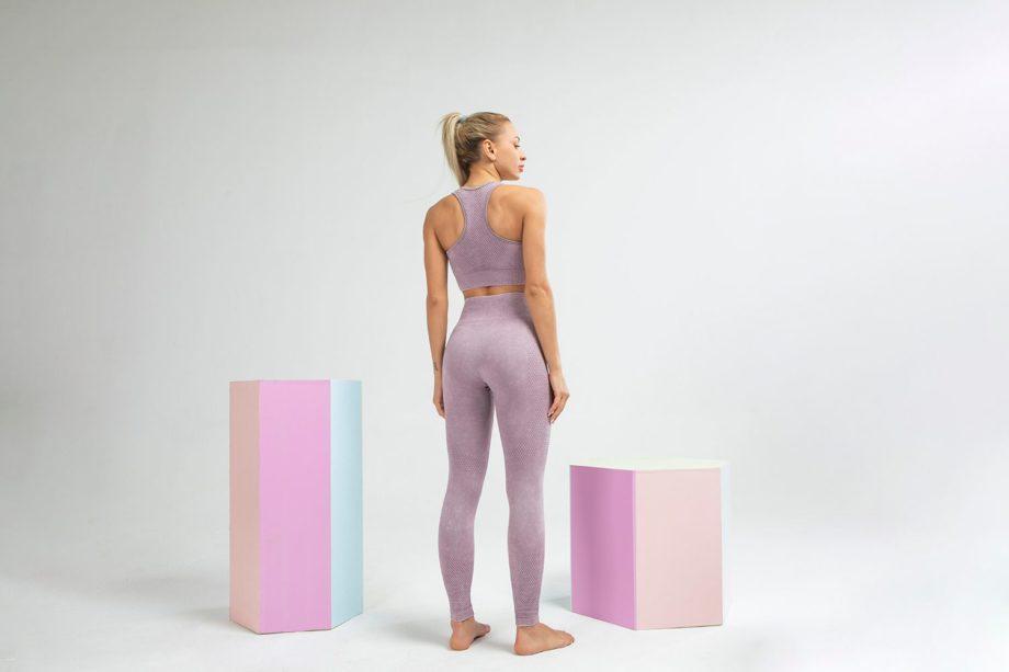 Conjunto top y leggins