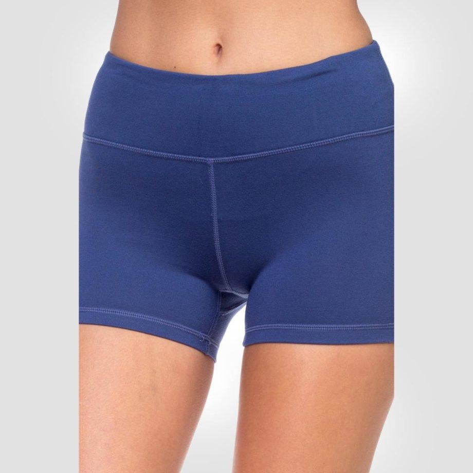 Shorts Deportivo Yoga Azul
