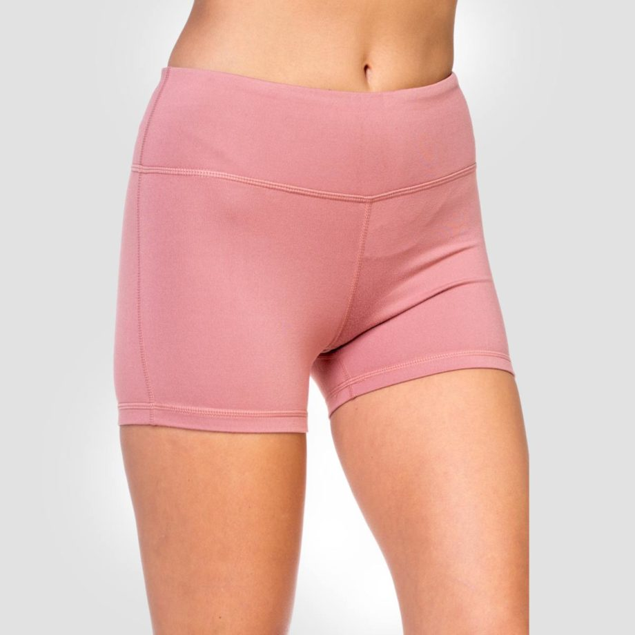 Shorts Yoga Rosa Óxido